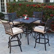 outdoor patio bar stools swivel la z boy outdoor charlotte 2pk