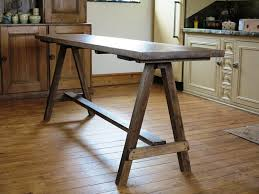 making a trestle table how to make trestle table how to build a trestle table table