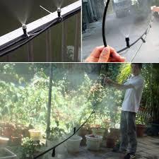 amazon com thebluestone diy 50ft 30 nozzles misting system kit