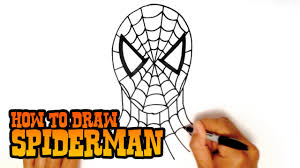 draw spiderman step step video