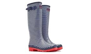 womens wellington boots size 9 joules s welly print boots size 9 groupon