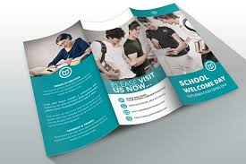 brochure templates for school project indesign brochure template school brochure templates creative