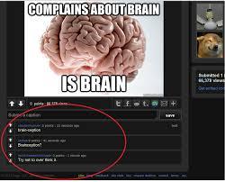 Scumbag Brain Meme - scumbag brain imgur