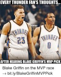 Blake Griffin Meme - everythunder fan s thoughts nbamemes after hearing blakegriffin s