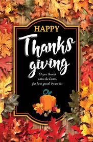 church bulletin 11 fall thanksgiving happy thanksgiving pack
