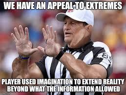 Ed Hochuli Meme - ed hochuli fallacy referee donald trump pinterest referee