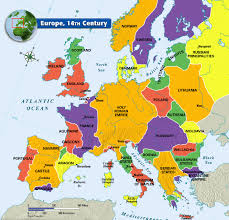 Europe And Africa Map by Europe 14th Century Map Click The Links Below To Access The Maps
