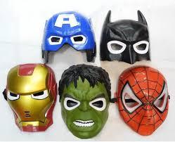 Iron Man Halloween Costume Toddler Led Halloween Cluminous Dark Mask Iron Man Spider Man Cartoon Mask