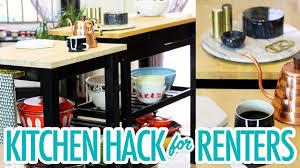 kitchen hack for renters hgtv handmade youtube