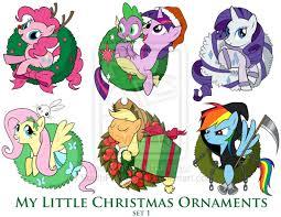 my pony ornaments set 1 by