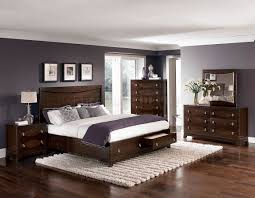 bedroom paint colors with dark brown furniture modern interior
