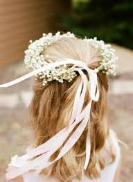 Girls Favourite Flowers - how to make a baby u0027s breath flower crown flower crowns crown