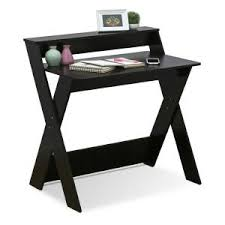 Furinno Modern Simplistic Espresso Criss Crossed Study Desk