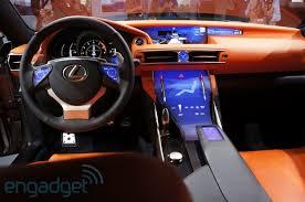 future lexus cars lexus lf cc concept shows the future of touchscreen interiors