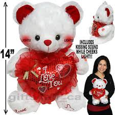 valentines day teddy bears day stuffed teddy i you plush heart