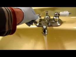 Brown Water From Faucet Banging Noise Coming From Water Pipe Faucet Replaced Youtube