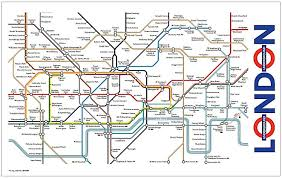 London Metro Map by London Underground Map Tea Towel Ba Amazon Co Uk Kitchen U0026 Home