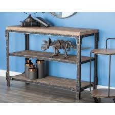 Wooden Console Table 3 Shelf Wooden Console Table 86001 The Home Depot