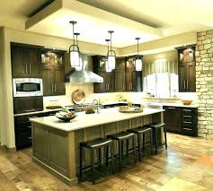 pendant lights over bar kitchen pendant lighting over islands love the chic kitchen design