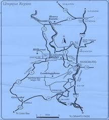 1992 oregon wine maps