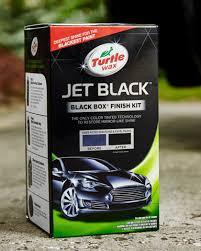 turtle wax jet black black box kit turtle wax