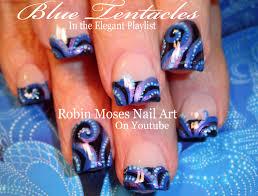 nail art in blue choice image nail art designs
