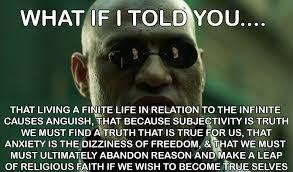 Philosophical Memes - 5 major philosophers dizzying ideas translated into matrix