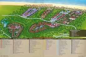 Riviera Maya Map Playa Del Carmen