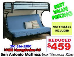bunk beds u2013 san antonio mattress u0026 futon
