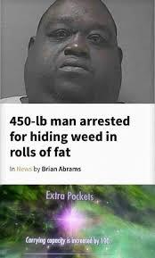 Elder Scrolls Memes - 450 lb man arrested for hiding weed in rolls of fat funny memes