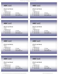 28 word 2007 business card template free download blank card