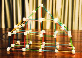 toothpick house marshmallow toothpick tinker toy house lauren design it