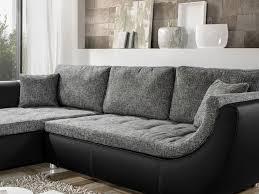 sofa anthrazit wohnlandschaft avery 287x196cm anthrazit schwarz sofa