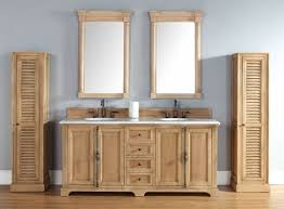 Solid Wood Bathroom Cabinet Impressive Homethangs Has Introduced A Guide To Unfinished Solid