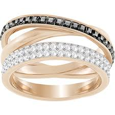 swarovski rings gold images Rings exclusively on
