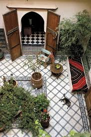 Outdoor Moroccan Furniture by Love The Large Moroccan Doors Opening Into The Back Yard