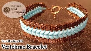 beaded bracelet tutorials youtube images Make a quot vertebrae bracelet quot jpg
