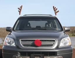 reindeer antlers for car ahhh it are you fuckin kidding me reindeer car antlers