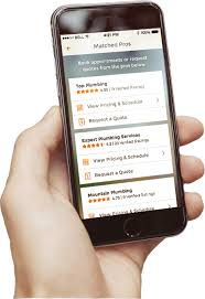 download the homeadvisor app find pros search reviews stay