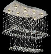 hall and stairs lighting led celling light villa the stairs compound hall stair crystal light