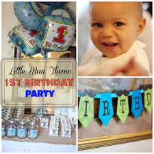 Little Man 1st Birthday Decorations How To Plan An Awesome Little Man Theme Birthday Party Weather