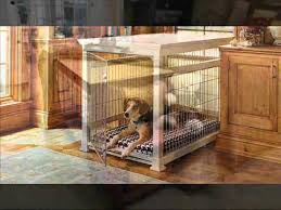Dog Crate Furniture Bench Wood Dog Crate Build A Wood Dog Crate Youtube