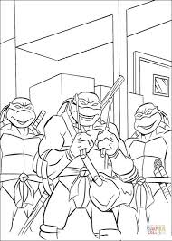 teenage mutant ninja turtles coloring free printable
