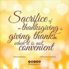 the key to peace and multiplication is thanksgiving give thanks