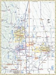 Colorado Cities Map by Eagle Eye Maps Map Portfolio