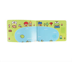 keroppi sticker album coloring page pond sanrio