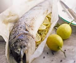 comment cuisiner un saumon entier recette rapide de poisson saumon farci au citron
