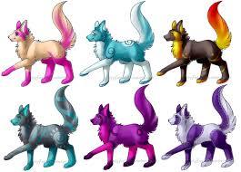 wolf designs adoptables 1 open by lai tut on deviantart