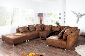 canapé d angle en cuir marron canape d angle cuir marron firstcdiscount