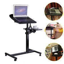 portable sofa table portable height angle adjustable rolling laptop sofa bed table